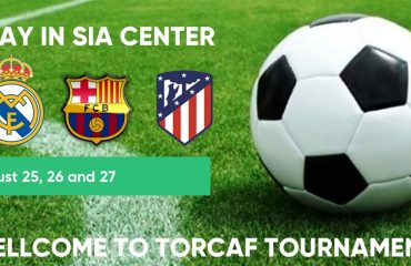 Real Madrid, FCB Barcelona & At. Madrid in tournament TORCAF in Spain.