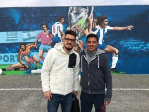 Fußball-Test unseres mexikanischen Spielers beim FC Porto mit Alex Telles