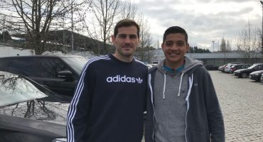 trials Puma FC Porto with Casillas
