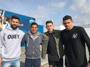 trials Puma FC Porto with Soares, Felipe and Herrera