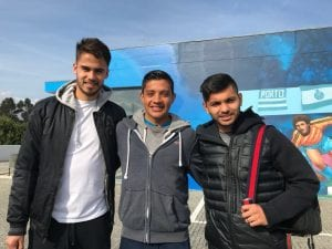 Fußball-Test unseres mexikanischen Spielers bei FCPorto