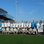 equipo femenino austriaco en SIA Center