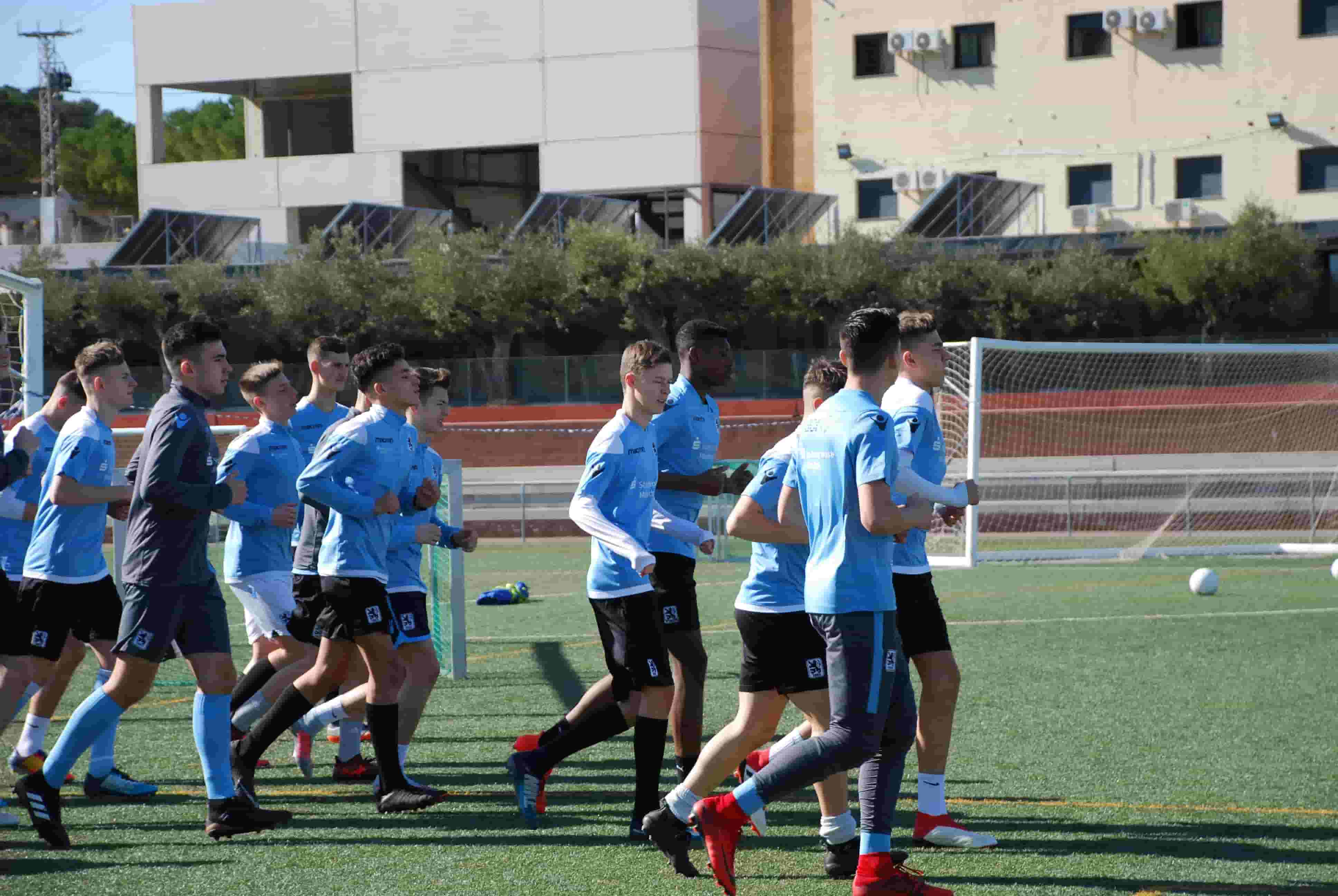 stage in spain 1860 Munich in SIA football academy
