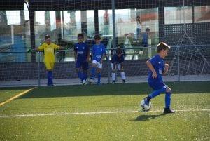 Desarrollo de Capacidades Individuales en campus de futbol