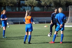 Norwegian clinic at the international football academy Sia Center Soccer Inter-Action in Spain