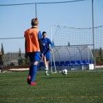 Equipo noruego de SIA Norway en la academia de fútbol SIA España