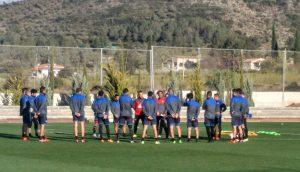 Concentracion equipo de futbol