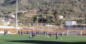 entrenamiento stage CE Sabadell