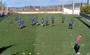 Entrenamiento CE Sabadell