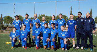 Academia internacional de fútbol SIA clinic norway