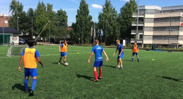 Soccer camp in Oslo