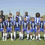 friendly soccer match FC Porto B Villareal