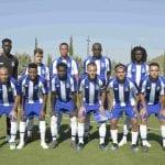 friendly soccer match FC Porto B Villareal
