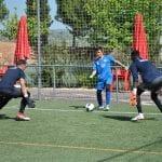 Entrenamiento en capus de porteros FC Porto