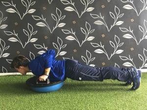 flexiones entrenamiento de porteros
