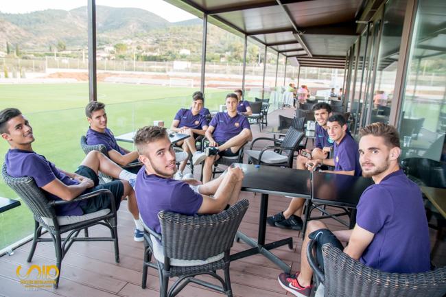 FC Barcelona B en Cafeteria deportiva Soccer Inter-Action