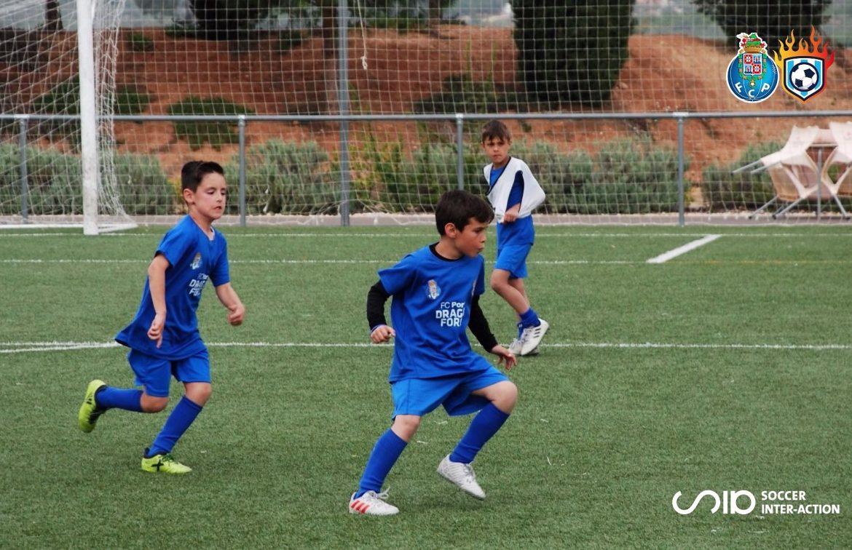 campamento de fútbol de alto rendimiento