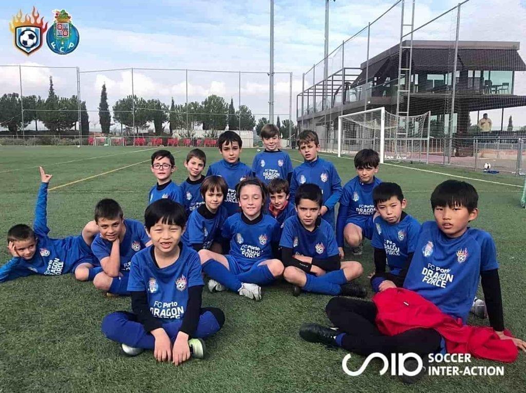soccer winter camps FC Porto