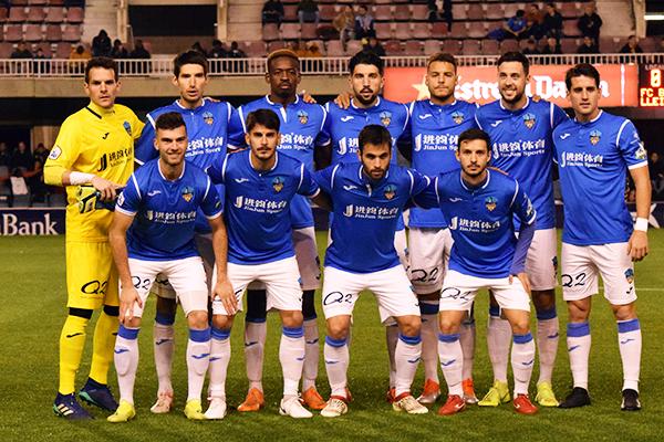 Equipo de fútbol de segunda B Lleida Esportiu