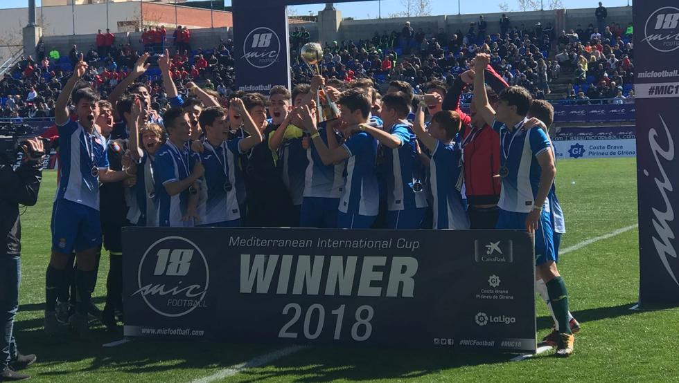 espanyol ganador del torneo internacional MIC