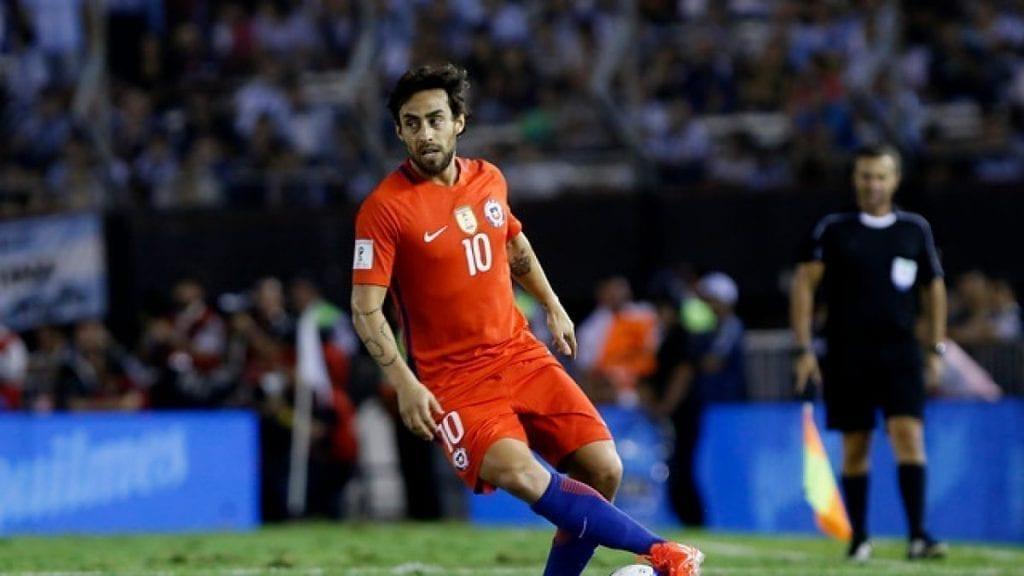 jugador de fútbol de chile