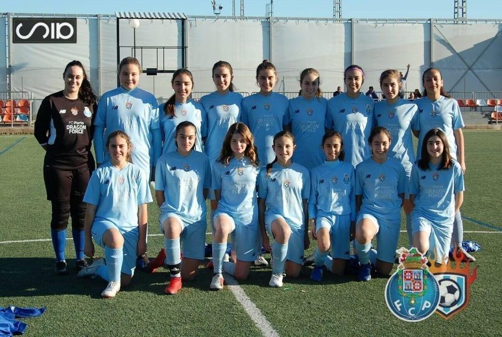 equipo futbol femenino cadete infantil