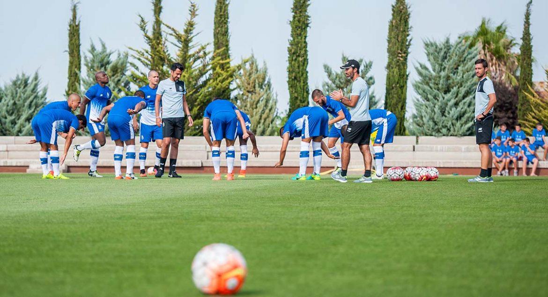 entrenamiento de equipo profesional