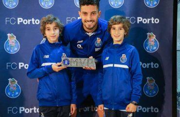 jugadores del primer equipo de FC Porto