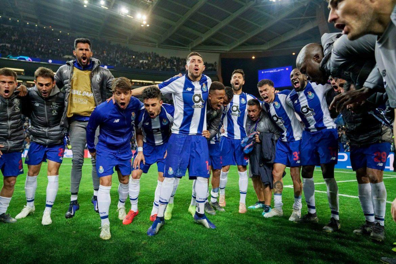 partido de fútbol de Champions League FC Porto