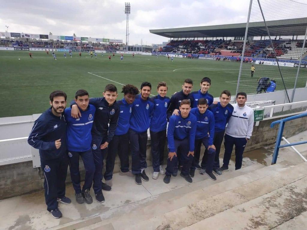 cadete FC Porto en MIC 2019