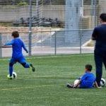 campamento de fútbol en Valencia