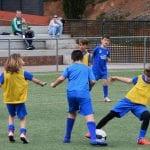 campamento de fútbol en España