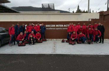concentracion equipo futbol
