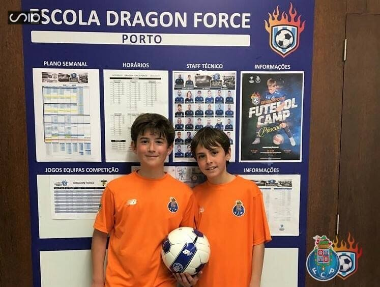 jugadores de Dragon Force Valencia en Porto