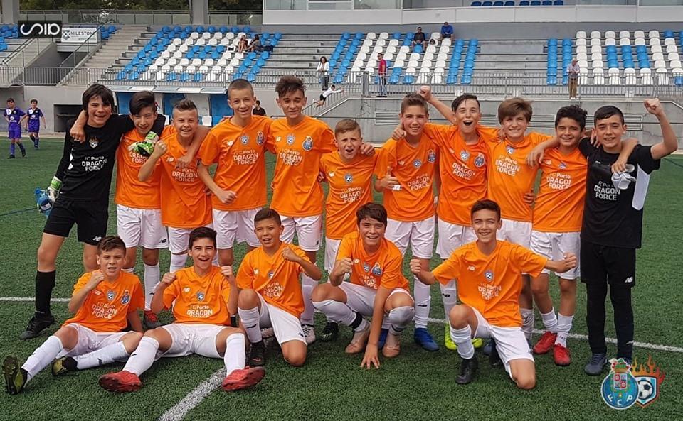 equipo de futbol dragon force infantil