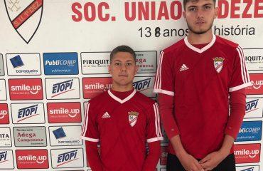 Pruebas de jugadores de la academia en Portugal