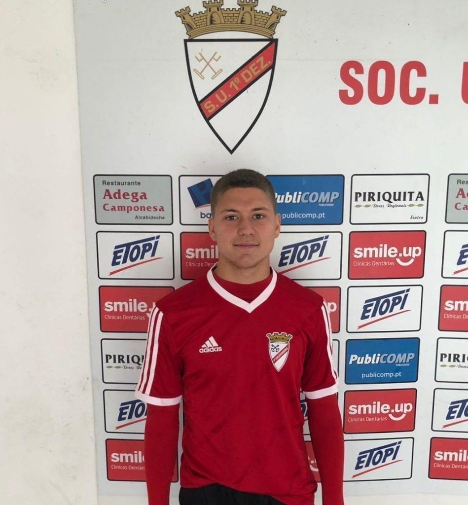 Pruebas de jugador portugues de la academia en Portugal