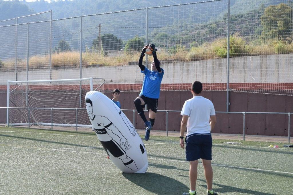 entrenamiento porteros campus