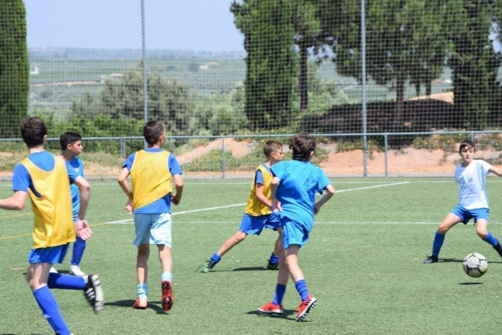 campamento de futbol alto rendimiento