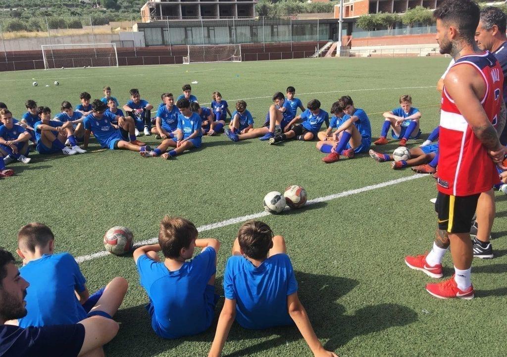 Futbolista Primera Division en Campus de Verano