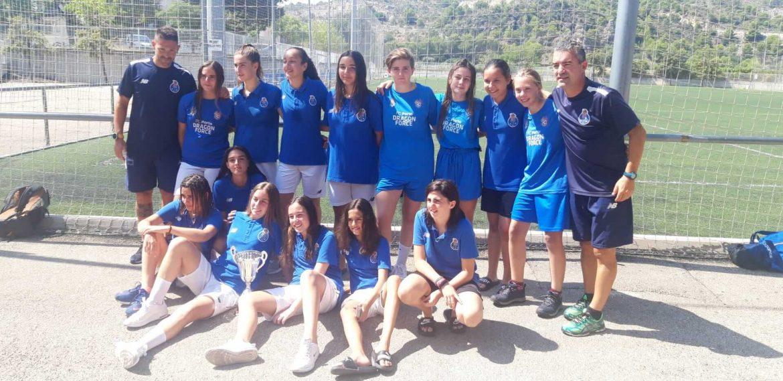 torneo de fútbol femenino de los valores