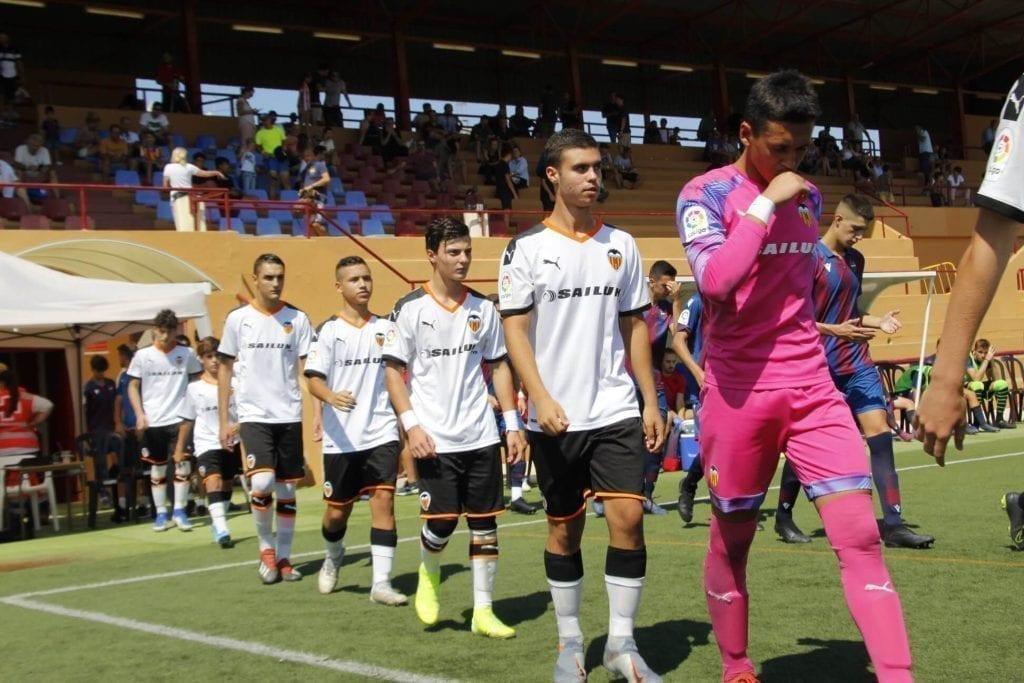 El Valencia se clasifica para las semifinales del torneo de fútbol