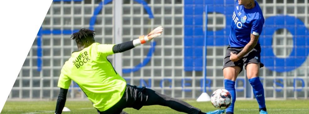 entrenamiento porteros acciones específicas colectivas FC Porto