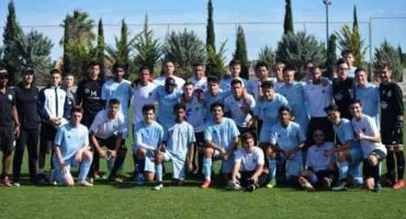 Academia Internacional de Futbol juega contra Seleccion Brasileña-min