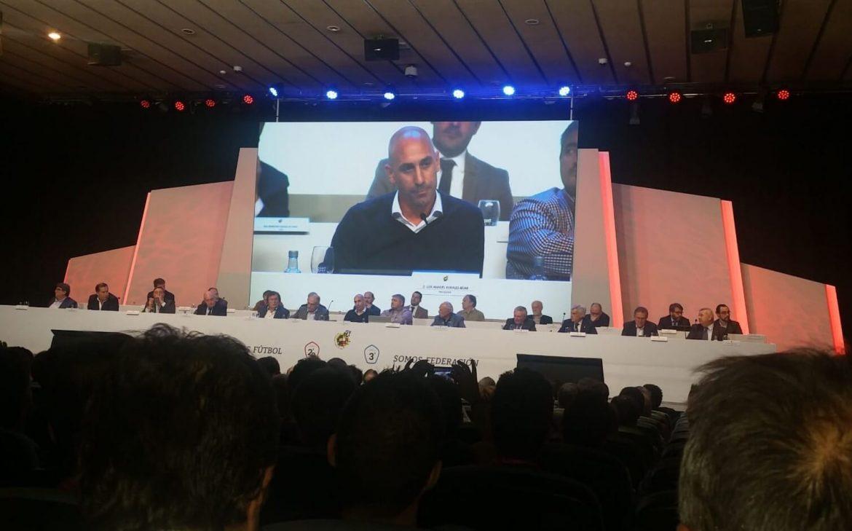 Soccer Inter-Action en reunion con la RFEF