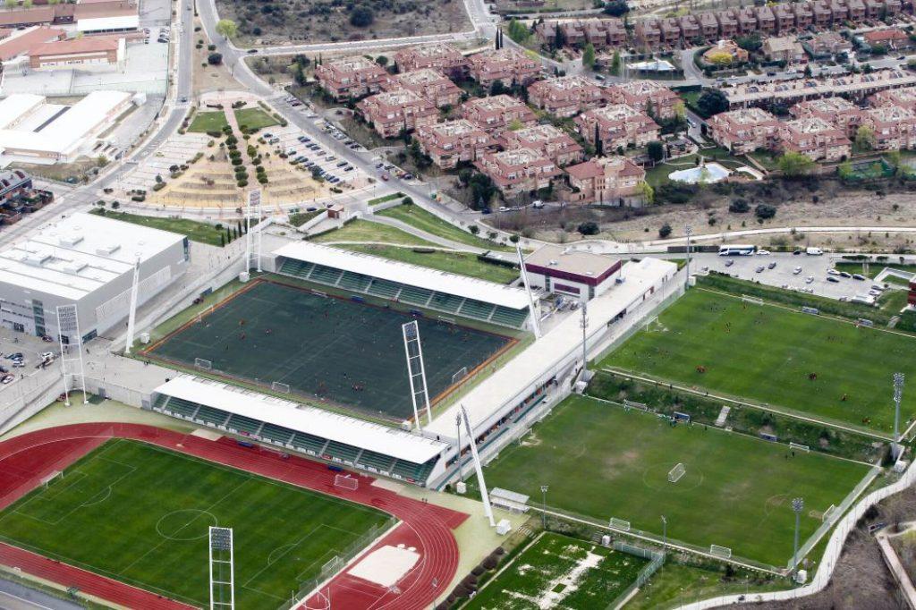 las rozas real federacion de futbol española