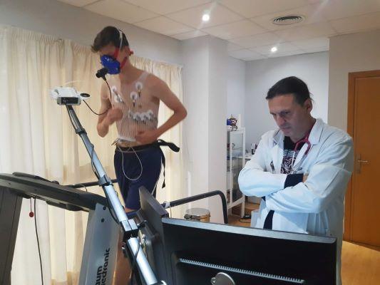 ergonometrías en Clinica Jaime I de Catarroja