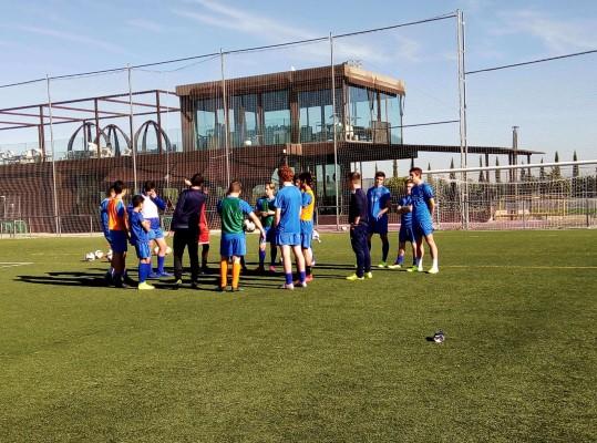 campamento navidad FC Porto