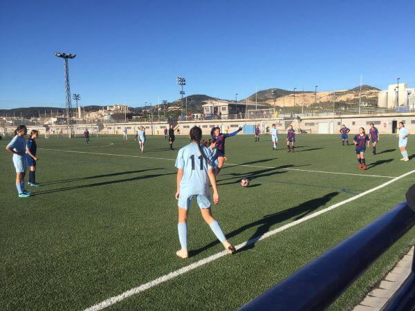 partido equipo femenino contra Levante UD
