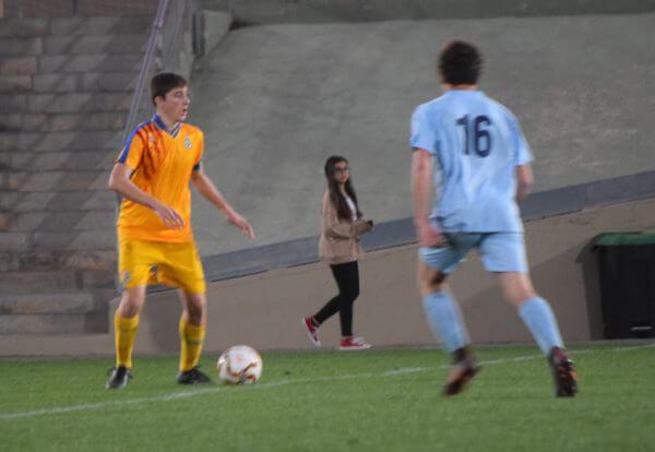 partido amistoso seleccion valenciana cadete